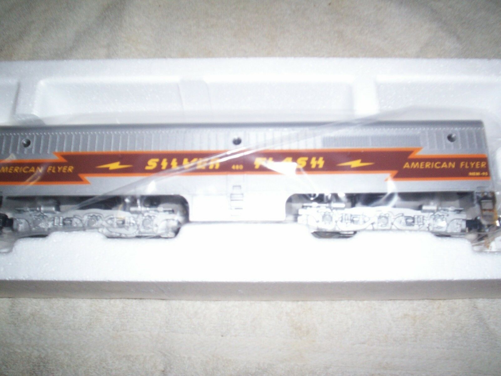 American Flyer  48128 Plata Flash Alco pb -1 no alimentado Diesel Unidad.