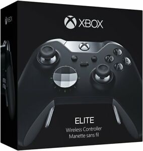 Official Microsoft Xbox One Elite Wireless Controller - Black - HM3-00001 In Box