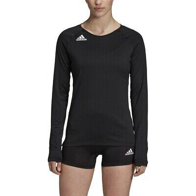 Adidas HILO Women's Long Sleeve Volleyball Jersey DX0887 - Black (NEW) Lists@$35   eBay