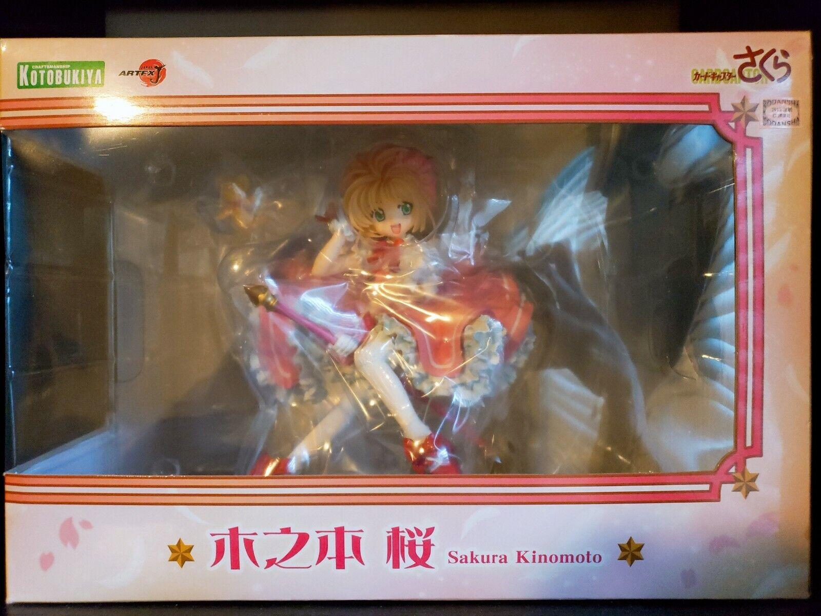 Cardcaptor Sakura ARTFXJ Statue 1//7 Sakura Kinomoto 19 cm Kotobukiya