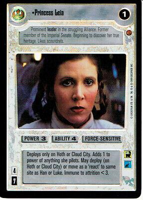 Star Wars CCG Reflections I VRF Very Rare Foil Princess Organa