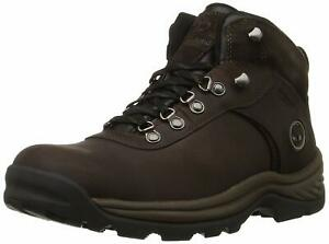 Timberland-Mens-Flume-Leather-Closed-Toe-Ankle-Cold-Dark-Brown-Size-12-0-2XnR