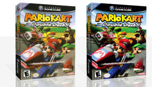 Details About Mario Kart Double Dash Game Cube Case Box Art Work Cover No Game