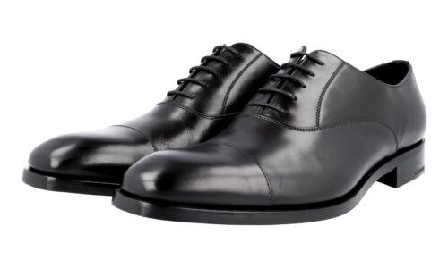 41 5 Nouveaux Oxford 5 Cap Chaussures Luxueux Noir 6 Toe 40 Prada 2eb121 0FBWq7