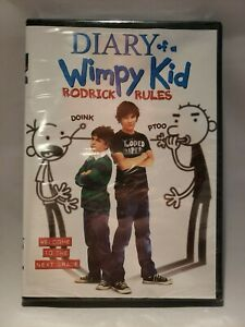 Diary-of-a-Wimpy-Kid-Rodrick-Rules-DVD-2011-New