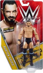 Austin-Aries-Basic-Series-71-WWE-Mattel-Brand-New-Figure-Toy-Mint-Packaging