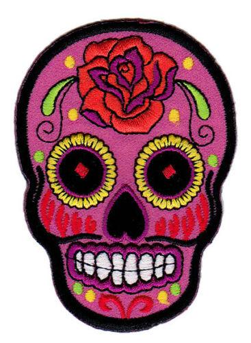 Bb03 Sugar Skull tatuaje selben de lote Lendakaris Patch perchas imagen calavera parches