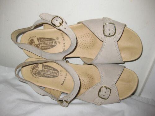Worishofer Comfort Ankle Strap Sandal Shoes Woman