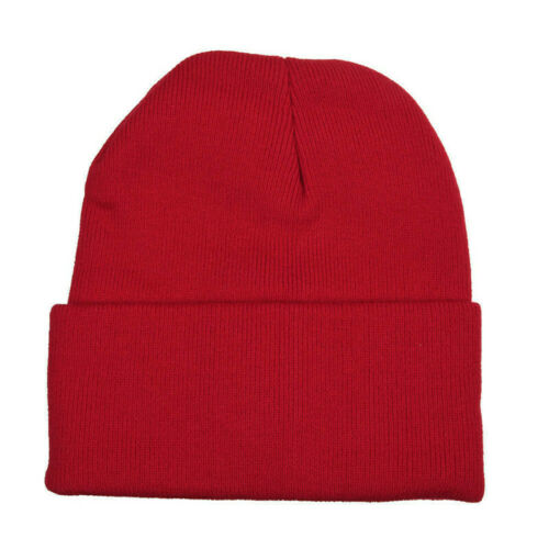 Knitted Wooly Beanie Hat With LED Light Unisex Warm High Powered Head Torch Lamp