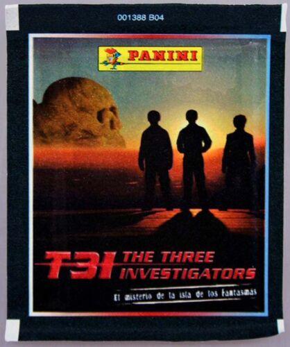 Sammel... Sammel-album 26x Packungen T3I The Three Investigators Album Sticker