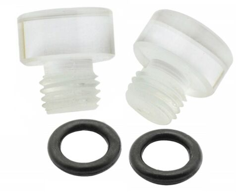 Pack Of 2 Mr Gasket 6057 Clear Fuel Bowl Sight Plugs For Holly Carburetors