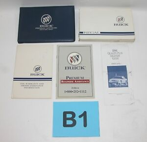 1996 buick regal factory owners manual portfolio good used condition rh ebay co uk 96 buick regal repair manual 1996 buick regal repair manual pdf