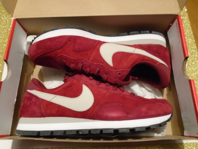 NIB Nike Air Pegasus 83' Leather Men's Size 11.5 Shoes 616324-602 Valiant  Red