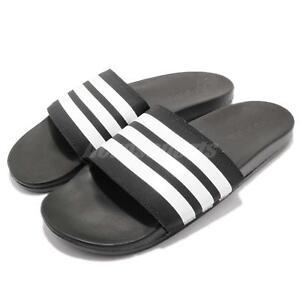 Details about adidas Adilette Comfort Black White Men Sports Sandal Slides  Slippers AP9971