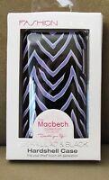 Ipod Touch 4th Generation Hardshell Case Zebra Lilac & Black Nip