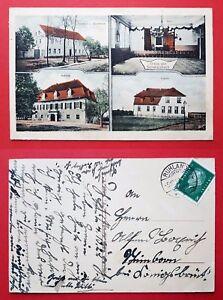 AK-SCHWARZBACH-bei-Ruhland-1927-Gasthof-zur-Eisenbahn-Schloss-Schule-26203