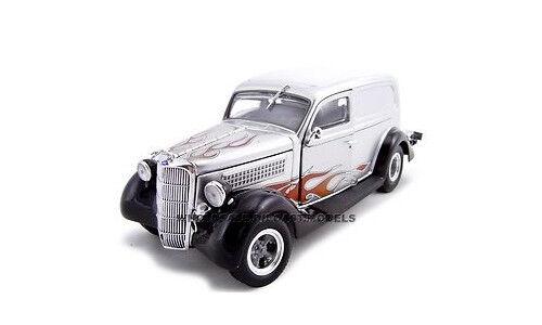 tienda de bajo costo 1935 Ford Sedan Delivery Plata Plata Plata flame 1 24 Auto Modelo De Unique Replicas 18523  con 60% de descuento