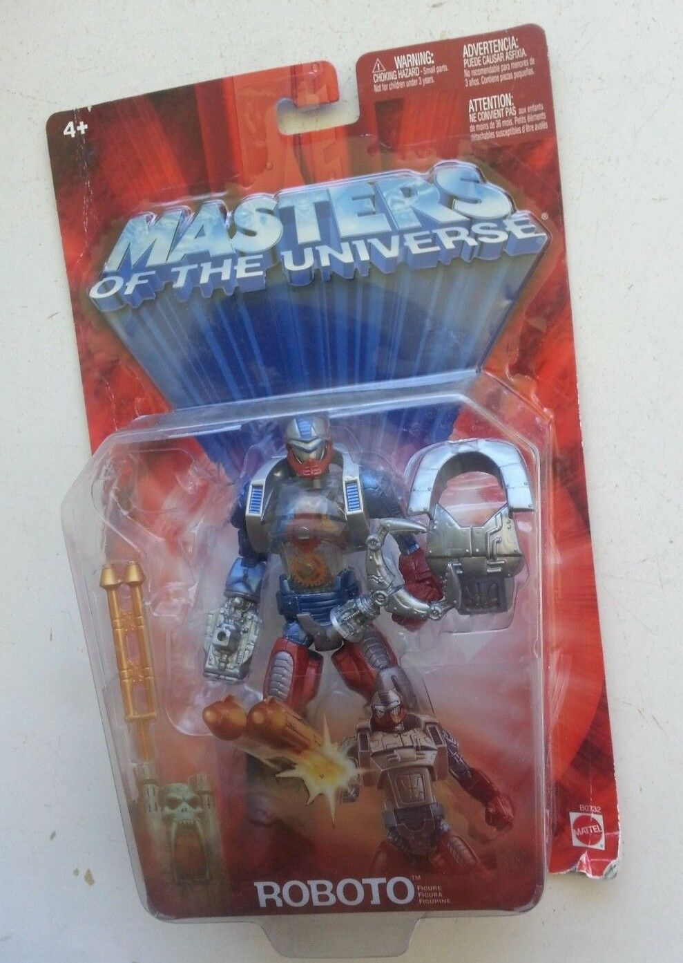 Masters Of The Universe MOTU ROBOTO action figure by MATTEL, New