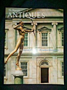 ANTIQUES-American-Wing-75-Years-Metropolitan-Museum-of-Art-Paintings-Patrons-NY