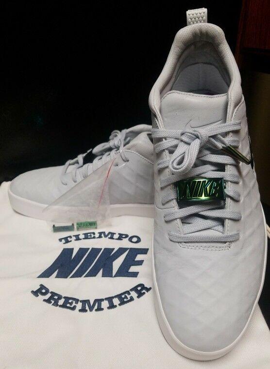 Nike tiempo vetta 250 17 di puro platino bianche gomma 876245-002 rara 250 vetta dollari di taglia 42 cb07a2