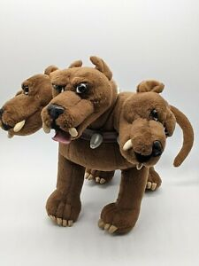 Wizarding World Of Harry Potter Fluffy Three Headed Cerberus Dog Plush GUND