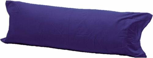 LUXURY BOLSTER ORTHOPEDIC PREGNANCY SUPPORT PILLOW CASE IN ALL SIZES AND COLOUR