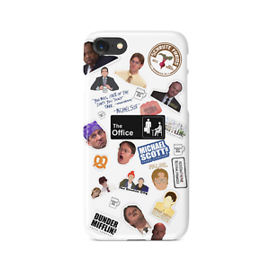 super cheap 01028 46899 Details about The Office TV Show Collage iPhone Case | Dunder Mifflin |  Michael Scott | USA