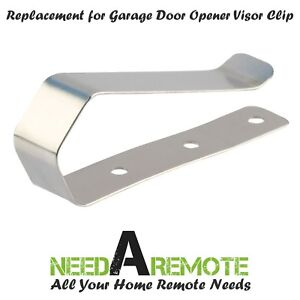 2 Garage Door Opener Remote Sun Visor Clip for 29B137-371LM 373LM 971LM 973LM