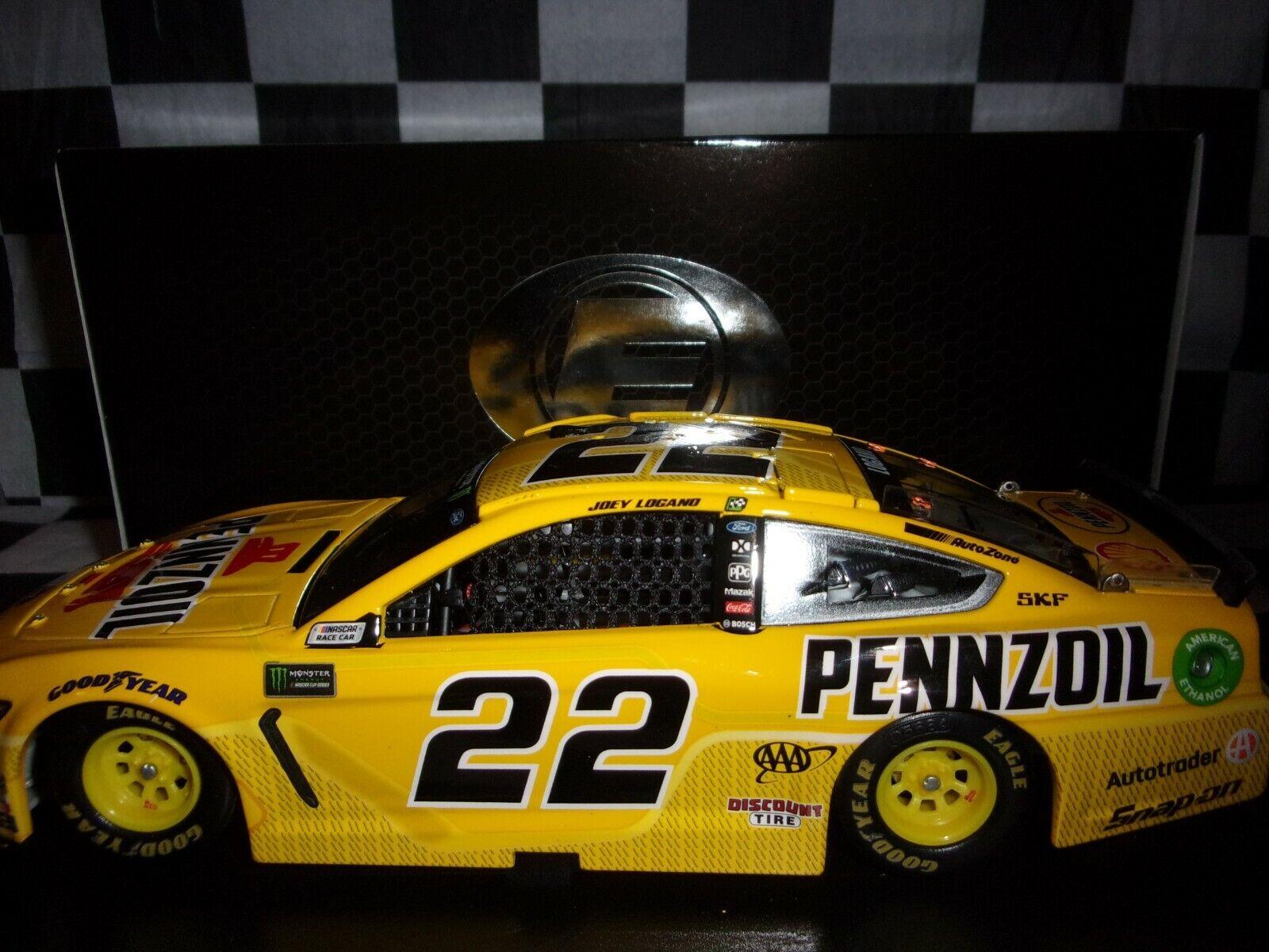 Joey Logano Pennzoil ELITE 2019 Mustang actie 1:24-schaal NASCAR C221922PZJL