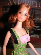 Vtg XLNT QUICK CURL KELLEY Doll Barbie Friend Mattel 1973 Bendable Legs KELLY