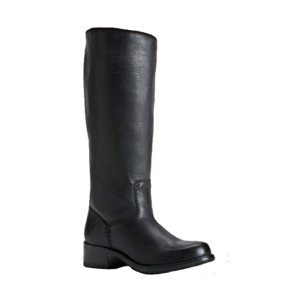 New FRYE Elena Pull On Black Ladies 8.5