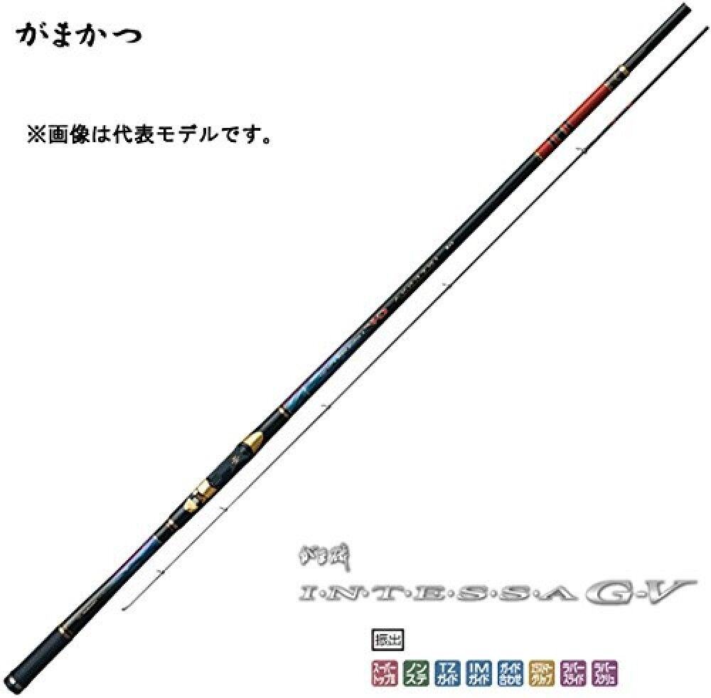 Gamakatsu Rod GamaIso Intessa G-V 1.75 gou 5.0m From Stylish Anglers Japan