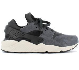 3e3417c8f34 Nike Air Huarache Run Premium Mens Sneakers Leather Shoes 704830-016 ...