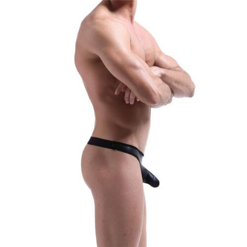 Men's Underwear JockStrap Brief Thongs G-String Boxers Underpants Leaotard S-XL