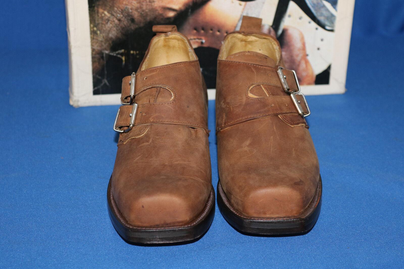 Rancho Stiefel cowboystiefel , schuh,  neu 38 leder handmade  gr. 38 neu choco mokka 5f7fed