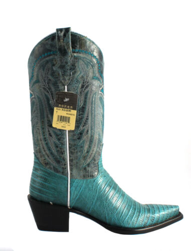 Roper Women/'s Snip Toe Embossed Exotic On Leather Western Boot