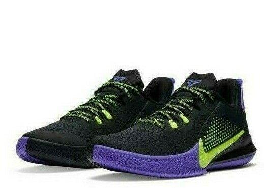Nike Mamba Fury Kobe Black Lemon Venom Purple CK2087-003 Basketball Shoes  Men's