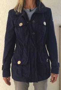 airfield damen jacke blau