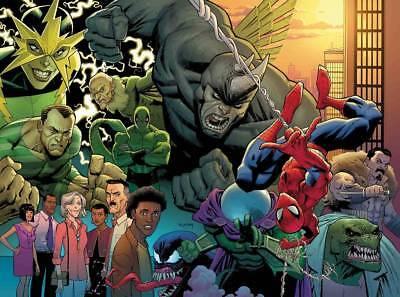 Amazing Spider-man Vol # 5 Issue # 1 Opena 1:50 Variant NEW VILLAIN