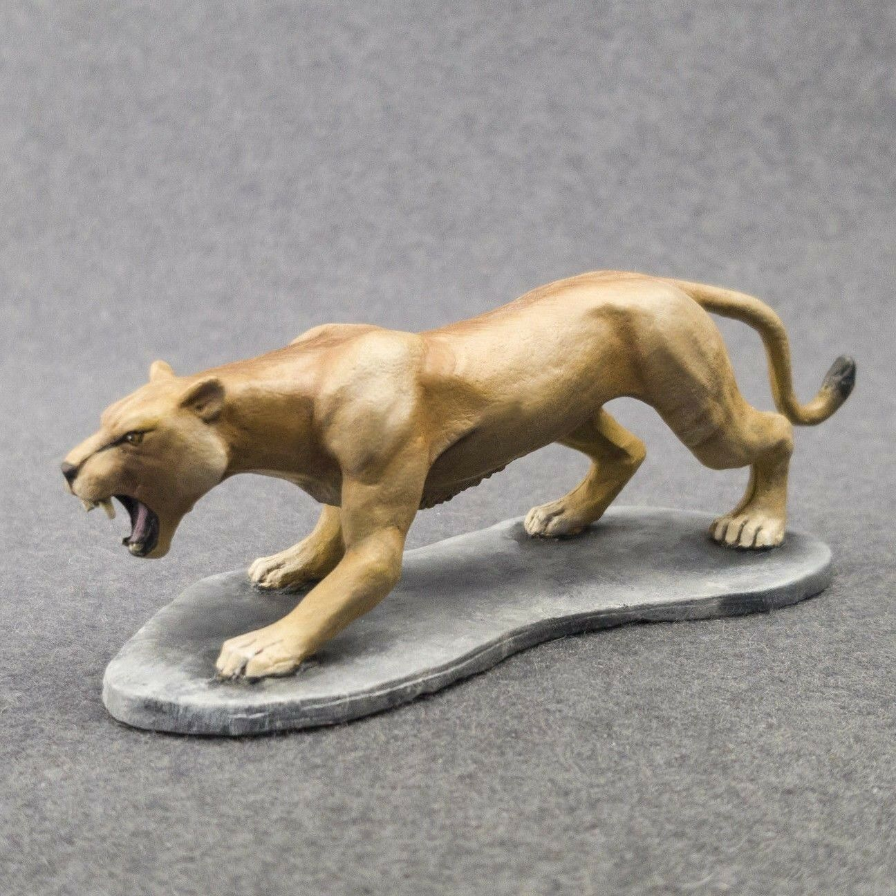 Toy Soldiers Lioness 24 1 Painted 75mm b6bb4rnuv42218-People