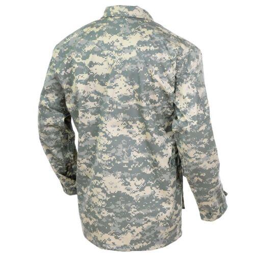 Mil-Tec NEW Mens US Army Style BDU FIELD JACKET Military UCP At-Digital Camo