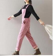d3e36e450a1 Hot Sell Women Dungaree Jumpsuit Overalls Corduroy Strap Harem Pants  Trousers