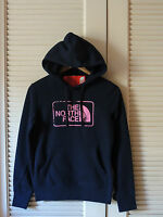North Face Ink Blue/ Petticoat Pink Fleece Valle Hoodie, Size X-small