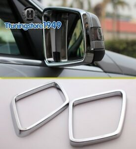 Chrome side mirror frame trim rims mercedes benz w164 ml for Mercedes benz gl450 chrome accessories