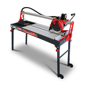 Image Is Loading Rubi Dc 250 1200 Electric Tile Cutter Wet