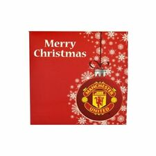 Official Manchester United Christmas Sweater Card Football Gift Man