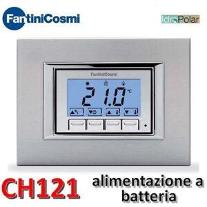 Nuovo termostato ambiente da incasso fantini cosmi ch121 for Termostati fantini cosmi prezzi