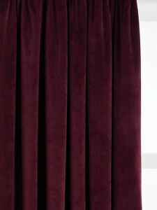John-Lewis-Lustre-Velvet-Lined-Multiway-Curtains-167cm-x-D182cm-Plum-B