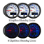 MaxTow 52mm White /& Blue Double Vision Water Temperature Gauge MT-WBDV06