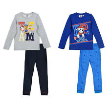 Schlafanzug PAW Patrol Baby Kinder Pyjama 86 92 98 104 110 116 Hose Anzug Chase